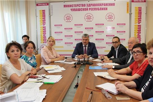 Минздрав России провел видеоселекторное совещание по реализации федерального проекта «Борьба с сердечно-сосудистыми заболеваниями» в регионах