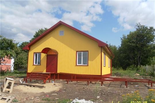 В Козловском районе строится новый фельшерско-акушерский пункт