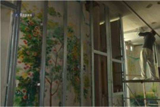 Етĕрнери тĕп больницăра юсав ĕçĕсем пыраççĕ