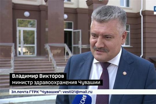 Новую поликлинику в центре города Чебоксары планируют сдать уже в этом году Источник: http://chgtrk.ru/news/24076