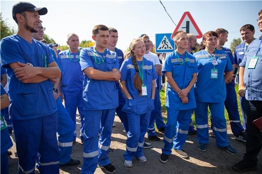 В Чувашии впервые прошел конкурс профессионального мастерства бригад скорой помощи среди российских
