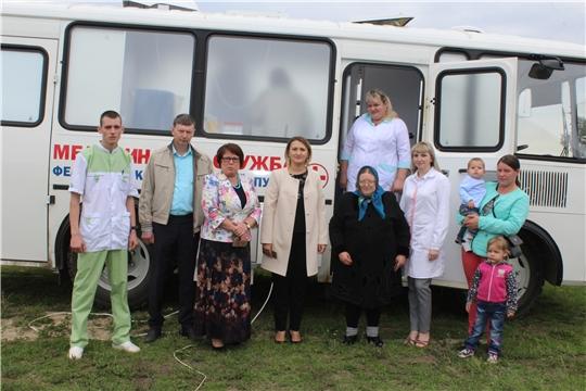 Мобильный фельдшерско-акушерский пункт Алатырской ЦРБ совершил первый рейс