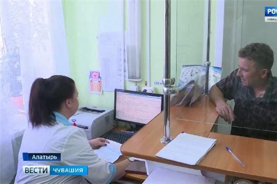 Алатырцы ждут открытия обновленной детской поликлиники  Источник: http://chgtrk.ru/news/24398