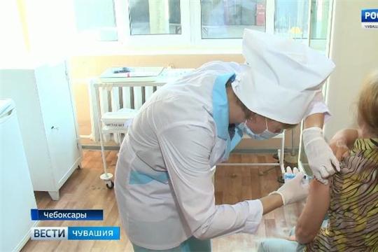 В Чувашии проходит вакцинация против гриппа  Источник: http://chgtrk.ru/news/24423