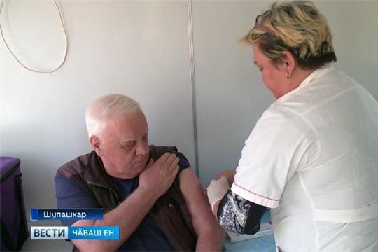 Чӑваш Енре вакцинаци тапхӑрӗ вӑй илсе пырать  Источник: http://chgtrk.ru/news/24436