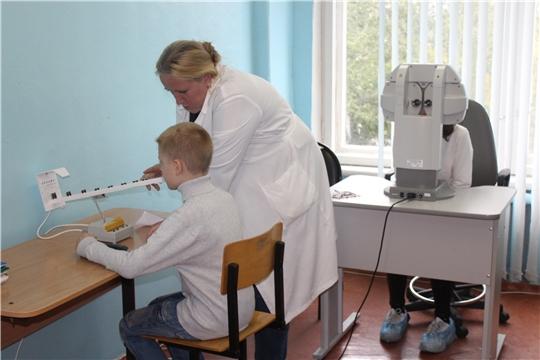 Более 300 ребят из Алатырского района прошли лечение в Школьном пункте охраны зрения