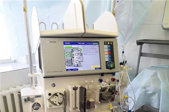 В рамках нацпроекта «Здравоохранение» в ГКБ№1 поступил аппарат для очищения крови