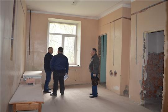 В Новочебоксарской городской больнице идет ремонт инфекционного отделения