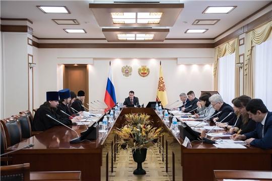Состоялось заседание рабочей группы по взаимодействию с Чувашской митрополией Русской Православной Церкви