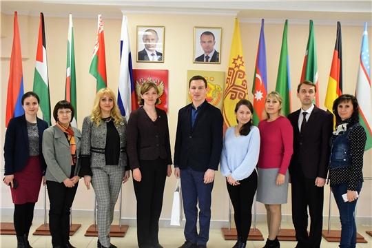 Встреча с представителем Посольства ФРГ в России состоялась в Доме Дружбы народов Чувашии
