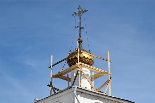В Храме Воскресения Христова начались ремонтные работы