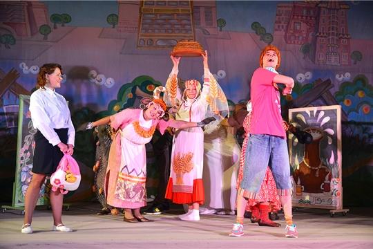 Спектакли Чувашского государственного театра юного зрителя имени М. Сеспеля ко Дню чувашского языка
