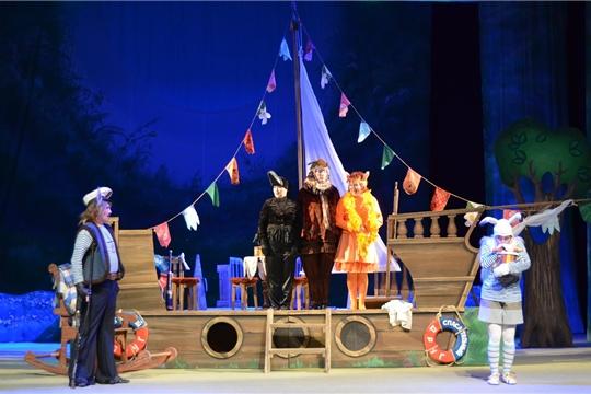 Чувашский театр юного зрителя имени Михаила Сеспеля приглашает на музыкальную сказку «По зелёным холмам океана»
