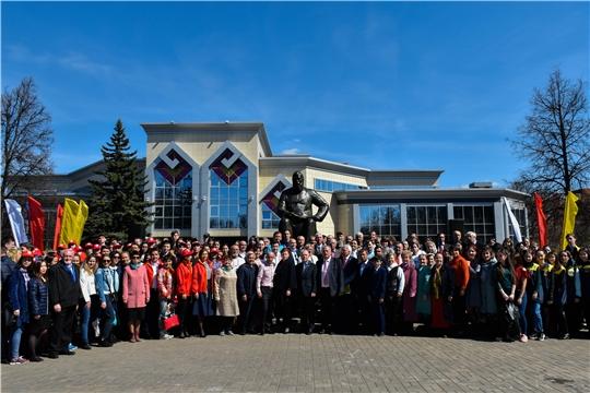 Жители республики отмечают День чувашского языка