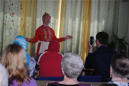 День чувашского языка в Чувашской республиканской специальной библиотеке имени Льва Толстого