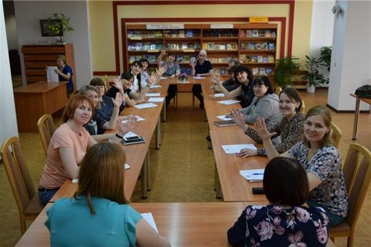 В Национальной библиотеке написали диктант по чувашскому языку