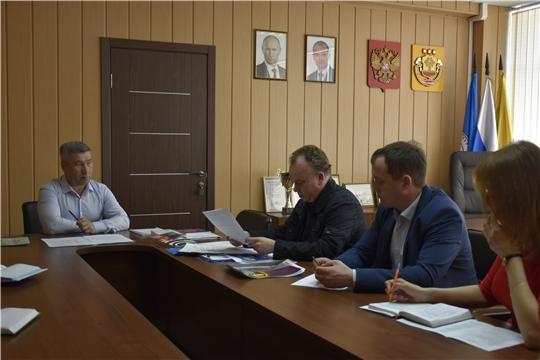 Константин Яковлев провел рабочее совещание по вопросам организации XII Чебоксарского международного кинофестиваля