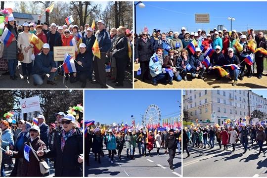 Первомайское шествие объединило работников культуры
