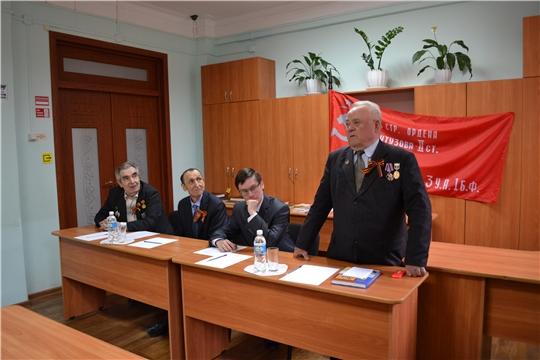 В Государственном историческом архиве Чувашской Республики прошла встреча «Война пришлась на наше детство»