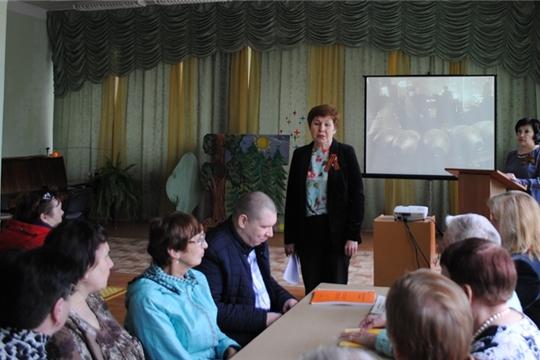 В Чувашской республиканской специальной библиотеке имени Льва Толстого прошло праздничное мероприятие, посвящённое Дню Победы