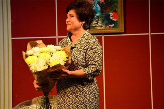 В Государственном русском драматическом театре Чувашии состоялся юбилейный вечер Ларисы Родик