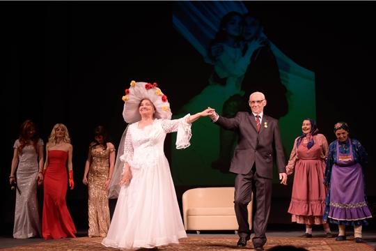 В Чувашском государственном академическом драматическом театре имени К.В. Иванова состоялся юбилейный вечер Николая Григорьева