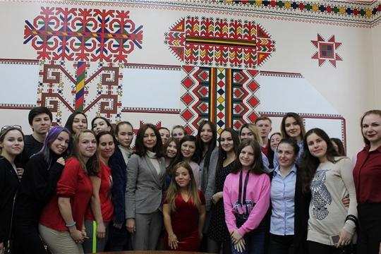Состоялась творческая встреча с актрисой, певицей, блогером Олимпией Ивлевой