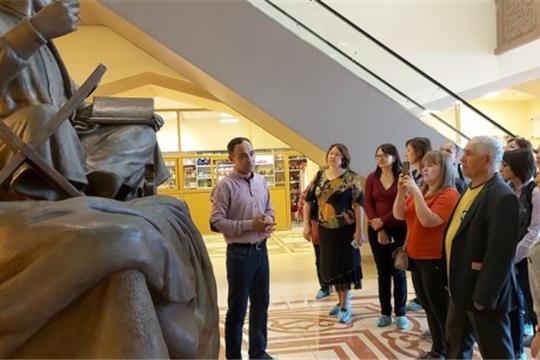 Сотрудники Национального музея посетили Болгарский государственный историко-архитектурный музей-заповедник