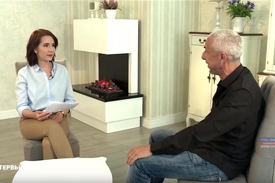 Чувашию посетил французский актер, сценарист, режиссер Биби Насери