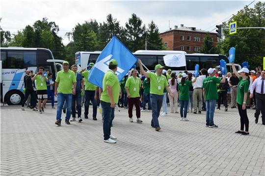 1 июня в Чувашию прибыла многочисленная делегация Первого телеканала