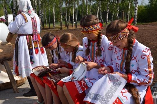 В этнокомплексе «Амазония» работала площадка «Быт чувашского народа»
