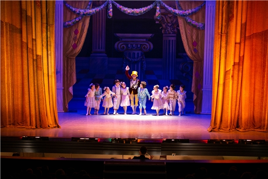 Масштабная благотворительная акция «Стань первым!» в Чувашском государственном театре оперы и балета