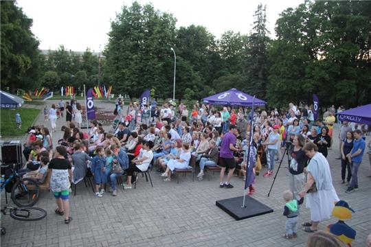 В Чувашии состоялся Фестиваль уличного кино
