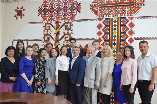 Состоялась встреча Константина Яковлева с участниками Восемнадцатых молодежных Дельфийских игр России