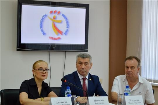 Министр культуры Константин Яковлев провел пресс-конференцию, посвящённую Дню Республики