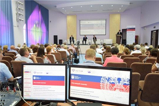 Начал работу семинар «Реализация государственной национальной политики в субъектах Российской Федерации»
