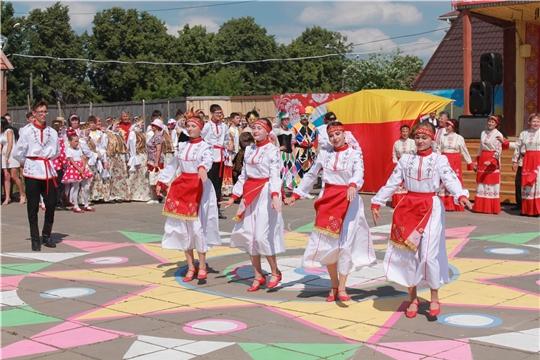 В Мариинско-Посадском районе прошел традиционный чувашский праздник «Акатуй – 2019»