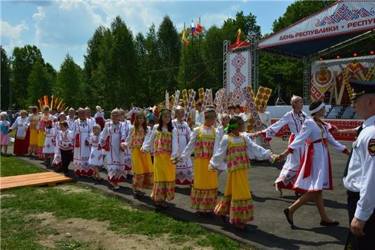 Открытие Дня Республики в Алатырском районе