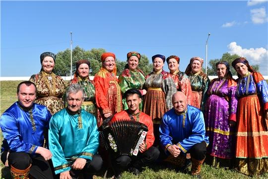 В г. Ядрин состоялась праздничная программа, посвященная Дню Республики