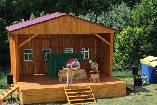 Чувашский театр кукол участвует в культурных мероприятиях, посвященных Дню Республики