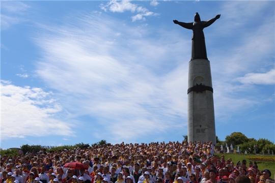 Сводный хор Чувашии порадовал жителей и гостей Республики