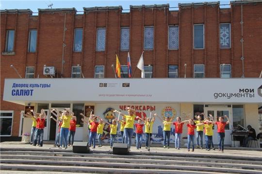 Во Дворце культуры «Салют» состоялся праздничный концерт участников XXVII Всероссийского фестиваля «Родники России»