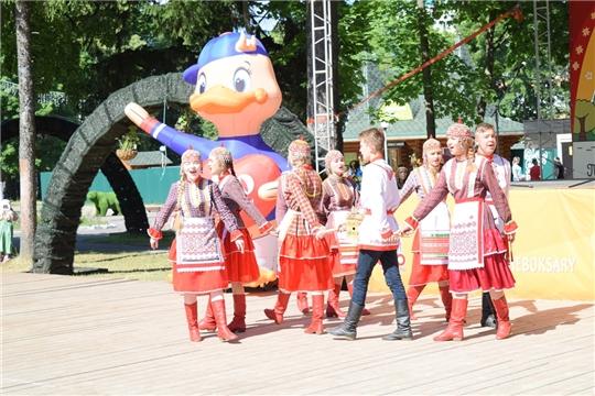 День республики в Детском парке им. А. Г. Николаева