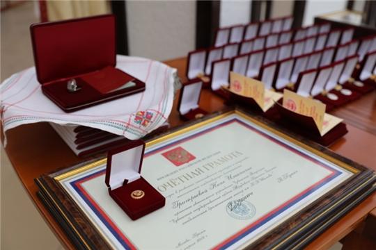 В Доме Правительства состоялась торжественная церемония вручения государственных наград