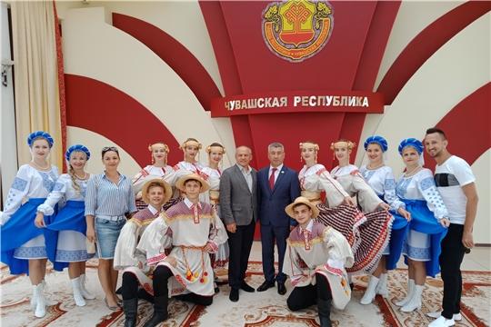 Состоялась встреча делегации Республики Беларусь с министром культуры Чувашии