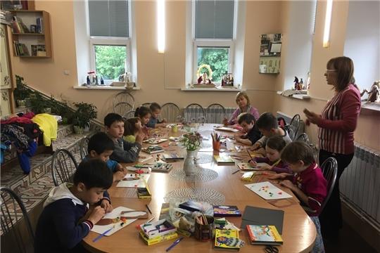В Виртуальном филиале Русского музея проводится летняя программа Инклюзивной студии эстетического воспитания
