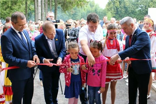 Состоялось торжественное открытие обновленного после ремонта Ярославского Дома культуры