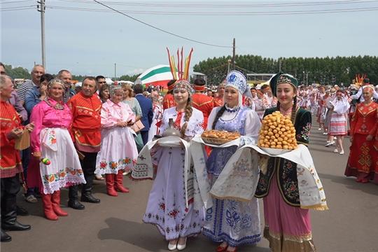 Госкиностудия «Чувашкино» провела видеодокументирование Всероссийского праздника чувашской культуры «Уяв»