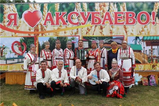 Гастроли фольклорного ансамбля «Уяв» в Республике Татарстан