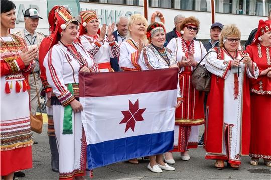 В Чебоксары прибыла делегация Международной этнокультурной экспедиции «Волга – река мира.  Диалог культур волжских народов»
